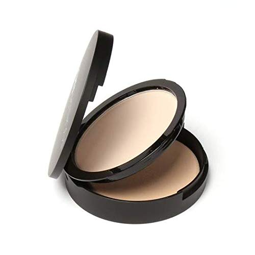 Weightless Press Face Powder 0il Control Natural Foundation Powder 3 Colors Smooth Finish Concealer Setting Powder (#1…
