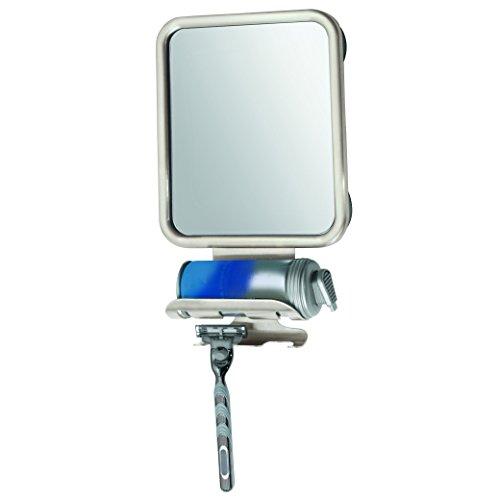 mDesign Shower Shaving Suction Bathroom