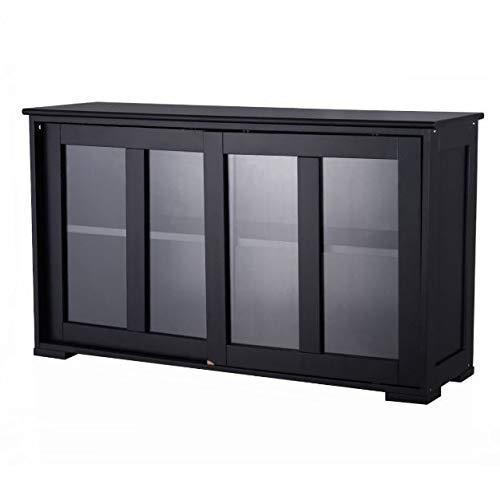 Dining Room Maple Cupboard - Cypressshop Kitchen Cabinet Storage Sideboard Buffet Cupboard Self Display Glass Sliding Door Pantry Organizer Furniture Home Decors