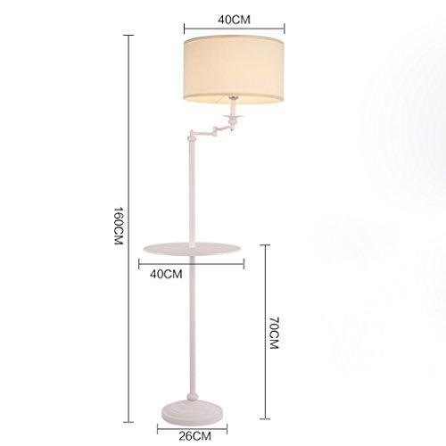 Plateau Étude Chambre Lampe Lampadaire Moderne De Chevet Blanc Salon mnN0OyPv8w