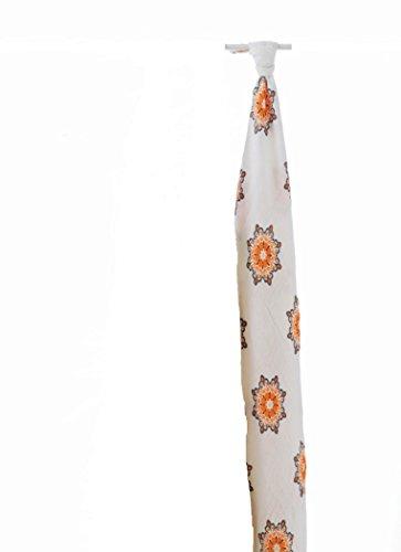 aden+anais Bamboo Muslin Swaddle Blanket (X1, Mela-Daisy)
