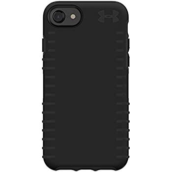 promo code 37a70 db592 Under Armour UA Protect Grip Case for iPhone 8, iPhone 7 & iPhone 6/6s -  Black/Black