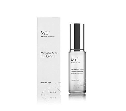 MD3 Advanced Skincare D-Wrinkle Multi Peptide Cream 30ml by MD3 ADVANCED SKINCARE