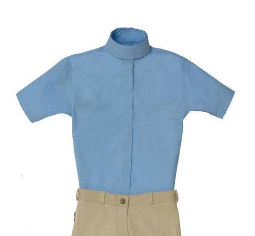 Equi-star EZE Care Ladies Short sleeve cotton show shirt.