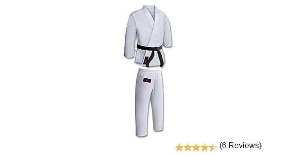 Traje/Uniforme de Karate de Polialgodón para Niños - Color Blanco ...