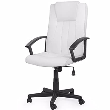Excellent Amazon Com Barton Economy Executive Office Chair Computer Theyellowbook Wood Chair Design Ideas Theyellowbookinfo