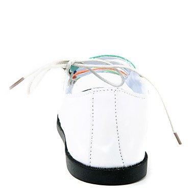 Los hombres plana zapatos de tacón sandalias de confort (Más colores). Negro
