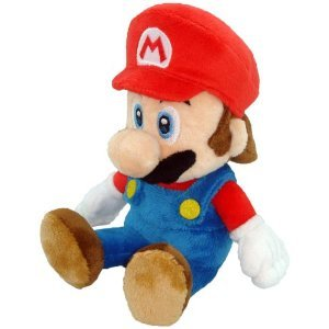 Super Mario Plush - 8 Mario Soft Stuffed Plush Toy Japanese Import from Japan VideoGames