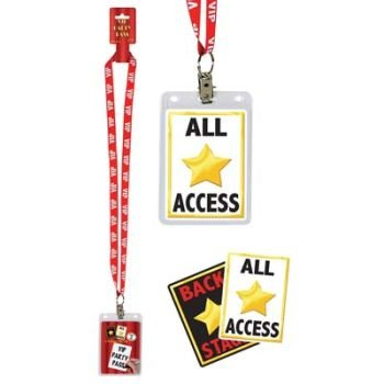 VIP Party Pass Party Accessory (1 count) - Costumes Celebs Halloween