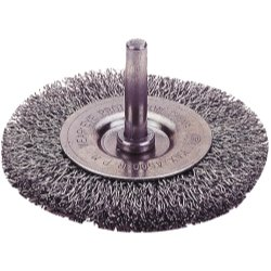 Firepower 1423-2100 Circular Type Crimped Wire Wheel Brush with 1-1/2-Inch Diameter and 1/4-Inch Shank