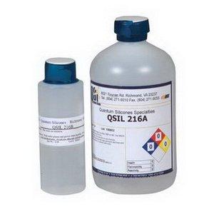QSI QSil 216 Clear Liquid Silicone, 2-Part, 1 Pt. Kit