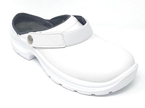 Vidar - Calzado de protección de Material Sintético para mujer Blanco blanco 40