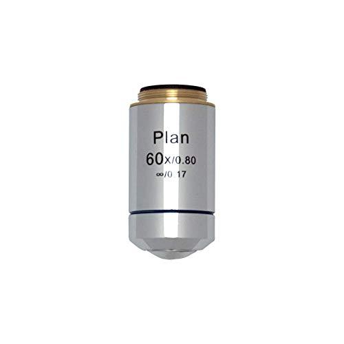 BoliOptics 60X Infinity-Corrected Plan Achromatic Microscope Objective Lens BM03023631 by BoliOptics