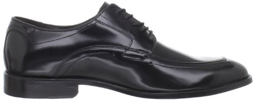 Johnston & Murphy Mens Articoli Runoff Lace Up Oxford Nero Pelle Di Vitello