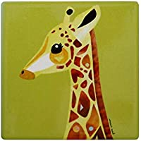 Maxwell & Williams Pete Cromer Wildlife Ceramic Square Coaster 9.5cm Giraffe