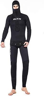 ZCCO Camo Hoodie Wetsuits Mens 3.5MM Neopreno Buceo De Dos Piezas ...
