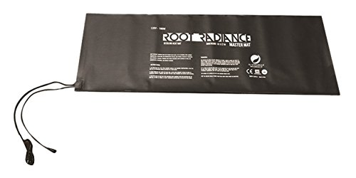 Root Radiance 437013 Daisy Chain 21'' x 61'' Seedling & Germination Master Heat Mat, Small, Black by Root Radiance
