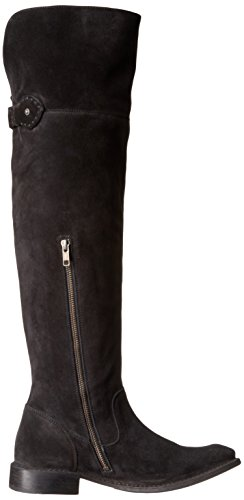 5 Frye OTK 78740 Shirley Fatigue Women's Extended Boot Black 6 Slouch Calf US M ErqFx0nr5