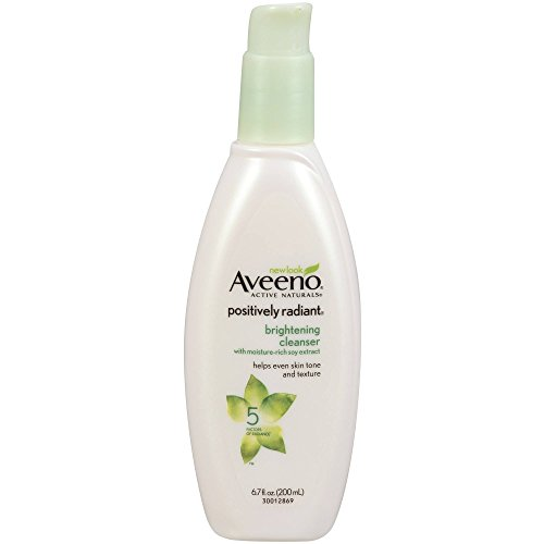 Cheap Aveeno Positively Radiant Brightening Cleanser 6.7 Ounce (198ml) (6 Pack)