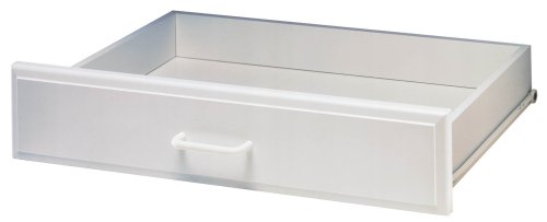 Easy Track RD2504 Deluxe Drawer, White, 4-Inch (White Track Easy)