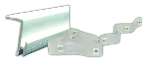 """JR Products 80385 Type-D 48"""" Ceiling Mount Curtain Kit"""
