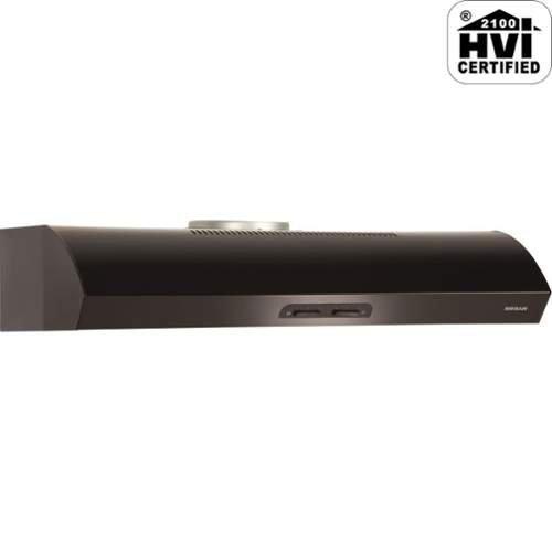 Broan QP136BL Under-Cabinet Range Hood, 36-Inch 300 CFM, Black-on-Black - 36