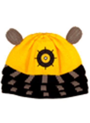 Doctor Who Yellow Dalek Beanie by (Dr Who Peter Davison Costume)