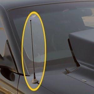 UPR 1979-2009 Mustang Black Billet Antenna Delete