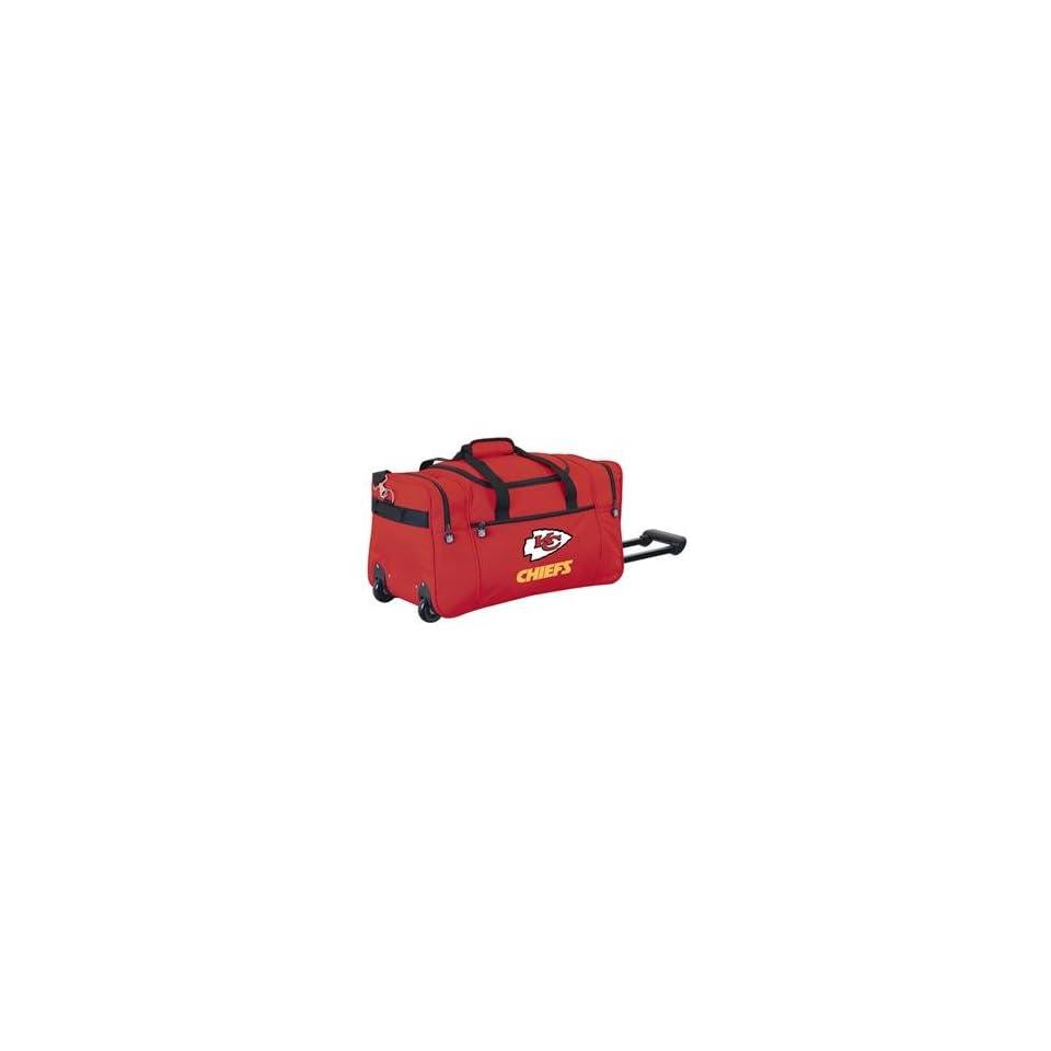 Kansas City Chiefs NFL Rolling Duffel Cooler by Northpole Ltd.