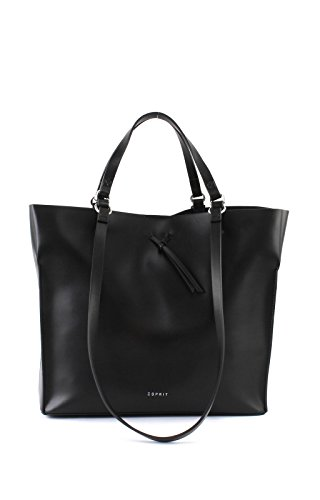 tote 31 Shopper Camino Black cm Borsa Esprit tpHgqw