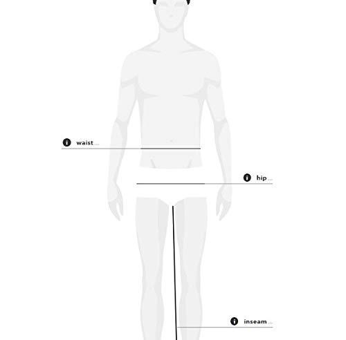b6224699fc8 G-Star Raw Men s 3301 Slim-Fit Pant in Black Edington Stretch Denim ...