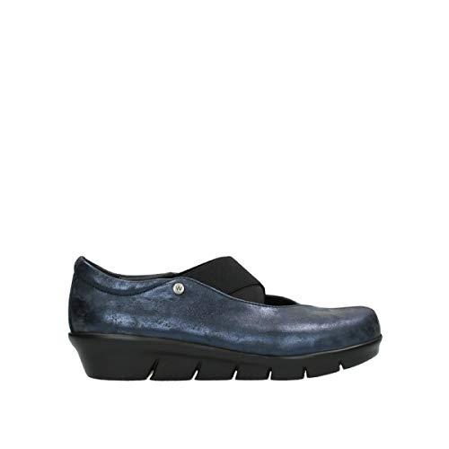 Wolky Cursa Comfort Nubuck 10823 Bleu Slippers rTrBCEq