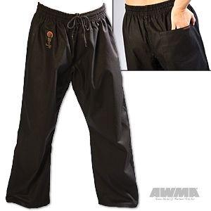 ProForce Gladiator 8oz Combat Karate Pants - Black - Size 4