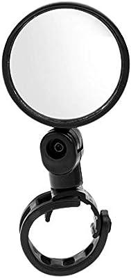 Espejo retrovisor para manillar de bicicleta, de cristal, seguro ...