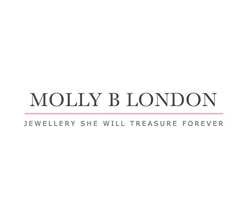 Molly B London | Personalized 925 Sterling Silver Baby's April Diamond Birthstone Baptism Bangle by Molly B London (Image #7)