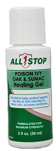 Poison Ivy, Poison Oak & Poison Sumac Healing Gel, Itch Cream - 2oz