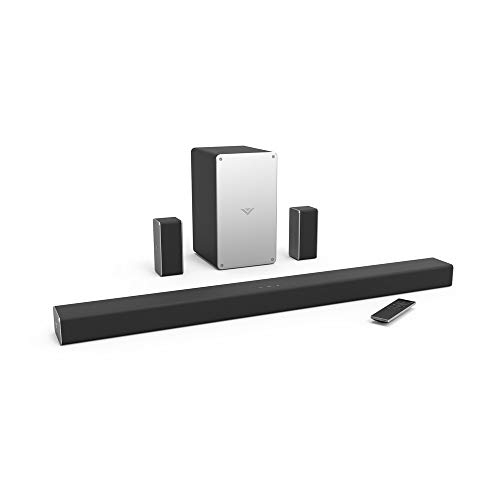 VIZIO SB3651-E6B 5.1 Soundbar Home Speaker, Black (Renewed)