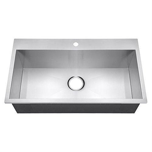Overmount Kitchen Sink: Amazon.com