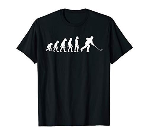 Funny Human Roller Hockey Evolution Skater Sticks Player T-Shirt