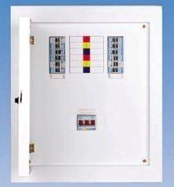 tp&n 3 phase distribution board db fuse box consumer unit 4way 415v free uk  shipping: amazon.co.uk: lighting  amazon.co.uk