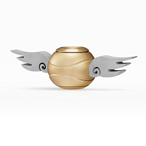 Snitch Fidget Spinner New Version, Hand Spinner Toy Time Killer SNITCH Stainless Steel Metal Fidget Toys Fingertip Gyro Relief Cube Toy Gifts For Adults and Kids(Upgrade) …