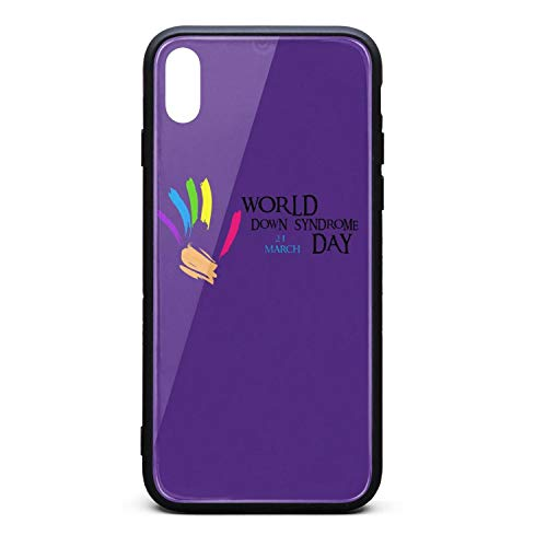 - Down Syndrome Concept Painted Hands with Colored top Protector Best Mobile iPhonexs MAX case