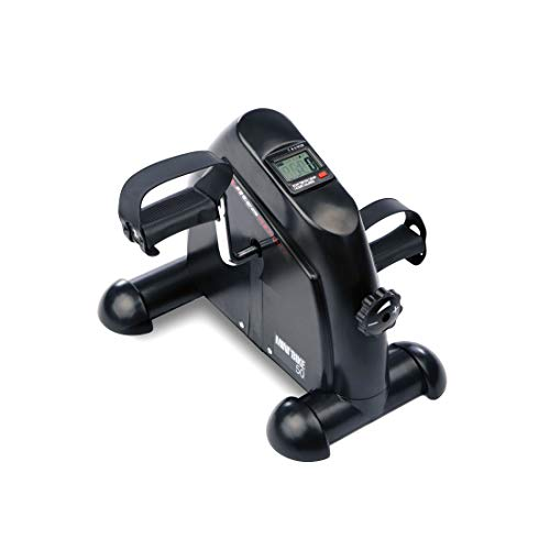 Ultrasport Mini Bike Exercise Bike, movement trainer, arm and leg trainer, pedal trainer for young and old with training computer, adjustable resistance, exercise equipment for home and office