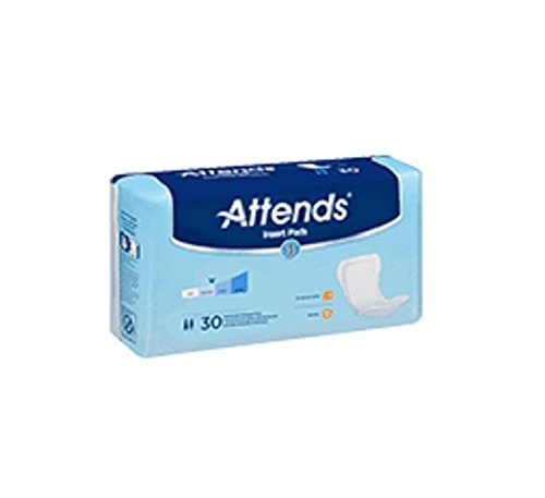 (Attends Incontinence Care Pads, Ultimate, 30 Count (Pack of 120) )