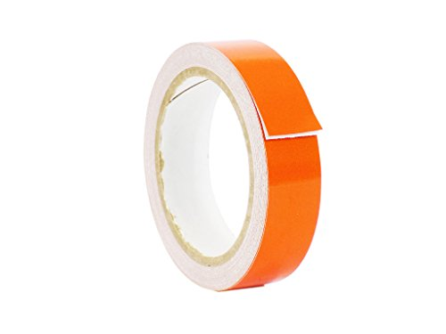 - WOD REF-7 Orange Engineering Grade Retro Reflective Tape (Available in Multiple Colors and Sizes): 3/8 in. wide x 30 ft. length