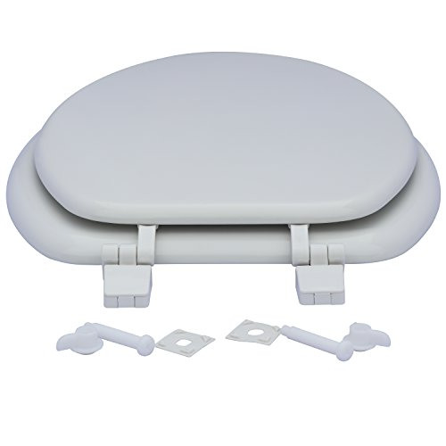 Karlson KS1242-1901-WH Standard Molded Wood Elongated Toilet Seat White by Karlson (Image #7)