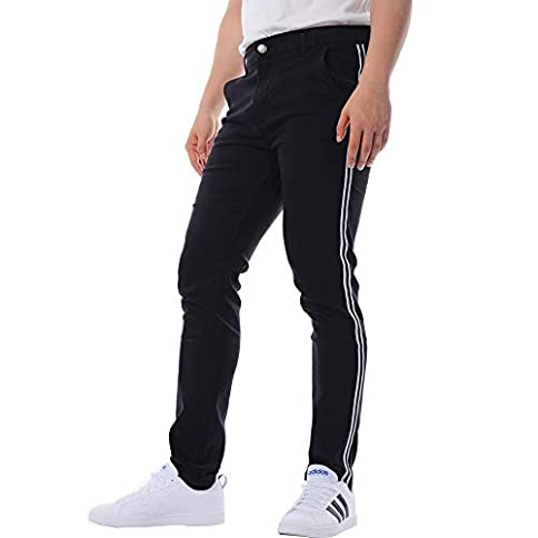 - 31aAvNvyLDL - BAILUNDAISI Men's Classic Jeans Skinny Slim Fit Stretch Jeans