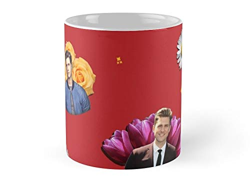 Land Rus Aaron Tveit Mug - 11oz Mug - Features wraparound prints - Dishwasher safe - Made from Ceramic - Best gift for family friends