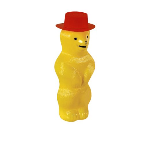 Toysmith Pustefix Bubble Blowing Bear (Yellow) (Bear Bubble)
