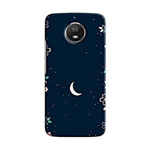 Cover It Up - Flower Moon Moto G5s Hard Case